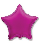 "9"" Airfill Only Magenta Star"