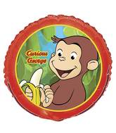 "18"" Curious George Foil Balloon"