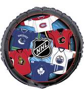 18&#39&#39 Packaged NHL Canadian Teams Foil Balloon