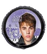 "18"" Justin Bieber Foil Balloon Packaged"