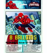 "12"" Ultimate Spiderman Assorted Colors 8 Count"