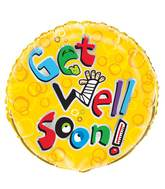 "18"" Get Well Humor Foil Balloon"