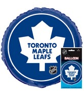 18'' Packaged NHL Toronto Foil Balloon