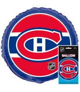 18&#39&#39 Packaged NHL Montreal Foil Balloon