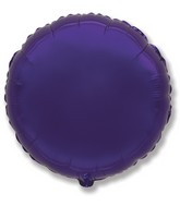 "32"" Jumbo Metallic Purple Circle"