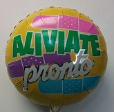 "18"" Aliviate Pronto Balloon (Damaged Print)"