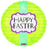"18"" Happy Easter Elegance Balloon"