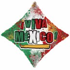 "36"" Viva Mexico! Balloon"
