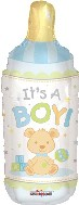 "28"" Jumbo Baby It's a Boy Bear Bottle"