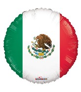 "18"" Mexico Flag Balloon"