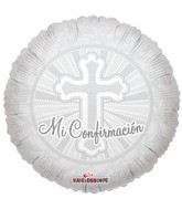 "18"" Mi Confirmacion Cross Balloon"