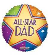 "18"" All Star Dad Gold Star"