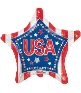 "18"" USA Stars & Stripes"