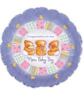 "18"" Congratulations New Baby Boy"