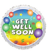 "18"" Get Well Party Balloons"