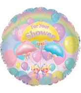 "18"" For Your Shower Balloons"