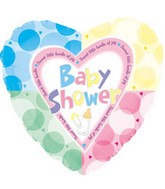 17'' Baby Shower Quadrants Packaged