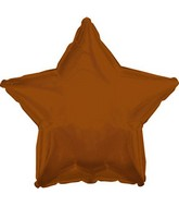 "18"" CTI Brand Brown Star (25 Count with Ribbon)"