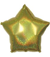 "18"" Gold Star Dazzeloon Balloon"