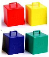65 Gram Cube Weights Primary Asst. 10 Count