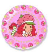 "18"" Strawberry Shortcake (pink balloon)"