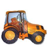 "31"" Yellow Tractor Shape"