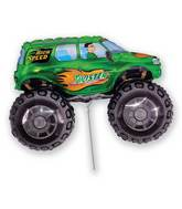Airfill Only Big Wheel Balloon Green