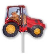 Airfill Only Red Tractor Balloon