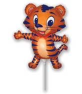 Airfill Only Tiger Cub Blue Balloon