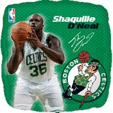 "18"" NBA Shaquille O&#39Neal Basketball Balloon"