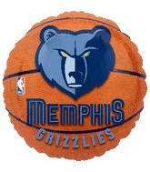 "18"" NBA Memphis Grizzlies Basketball"