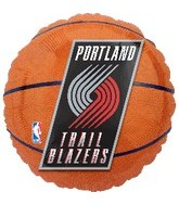 "18"" Portland Trail Blazers Basketball"