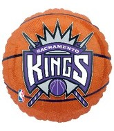 "18"" NBA Sacramento Kings Basketball"