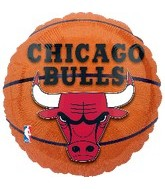 "18"" NBA Chicago Bulls Basketball Balloon"