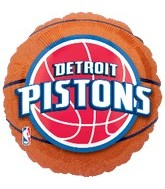 "18"" NBA Detroit Pistons Basketball"