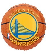 "18"" Golden State Warriors Basketball"