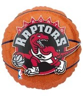 "18"" NBA Toronto Raptors Basketball"