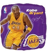 "18"" NBA Kobe Bryant Basketball Balloon"
