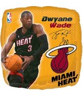"18"" NBA Dwyane Wade Basketball Balloon"