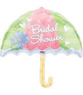 "30"" Bridal Showers of Love Umbrella"