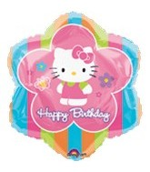 "18"" Hello Kitty Balloon Happy Birthday"