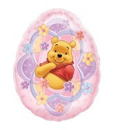 Supershape Easter Pooh Balloon