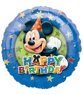 "18"" Mickey Mouse Birthday Stars Border"