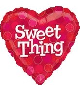 "18"" Sweet Thing Heart Balloon"