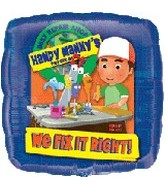 "18"" Handy Manny We Fix It Right! Balloon"