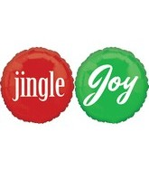 "18"" Jingle Joy Balloon"