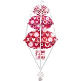 Stack-Ups Balloon Bouquet Xo Hearts