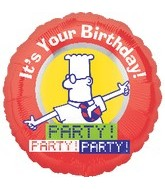 "18"" Dilbert It&#39s Your Birthday! Party!"