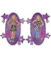 "29"" Hanna Montana Shape Balloon"