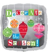 "18"" Decorate for the Season Balloon"
